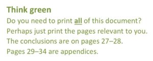 Prompt in reports about whether printing the whole report is necessary