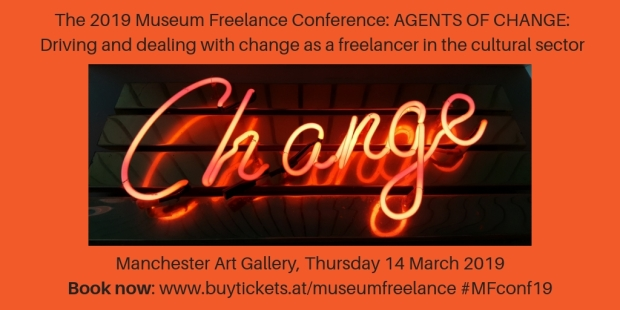 Museum Freelance conference promotional image